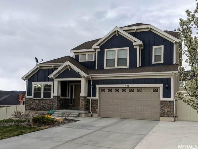 403 W Birch Dr, Saratoga Springs, UT 84045 (#1735254) :: Berkshire Hathaway HomeServices Elite Real Estate
