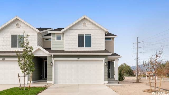 1062 E Waterway Ln N #1398, Saratoga Springs, UT 84045 (#1736209) :: Doxey Real Estate Group