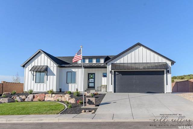 3598 W Foundation Trai #3, Cedar City, UT 84720 (#1736339) :: Black Diamond Realty