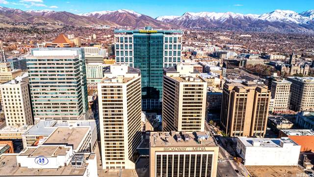 48 W Broadway 1505N, Salt Lake City, UT 84101 (#1736366) :: C4 Real Estate Team