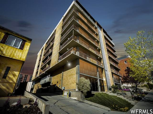 131 E First Ave #706, Salt Lake City, UT 84103 (#1736558) :: Villamentor