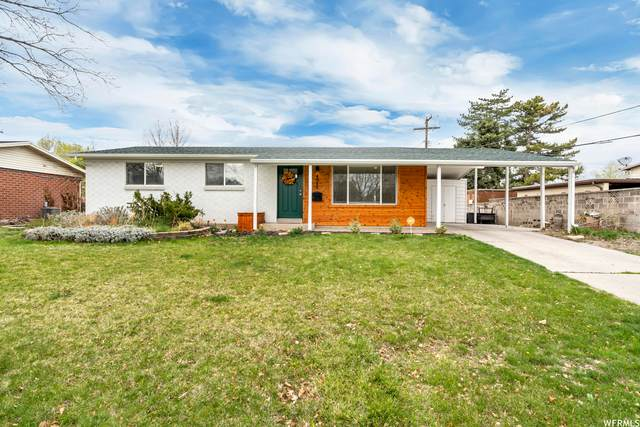 4048 S Bonniewood Dr W, West Valley City, UT 84119 (#1736584) :: Black Diamond Realty