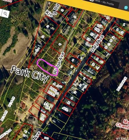 678 -1-E-A  RIDGE Ave, Park City, UT 84060 (#1736722) :: Black Diamond Realty