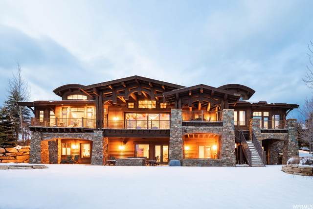 8136 N Ranch Club Trl, Park City, UT 84098 (#1736826) :: The Perry Group
