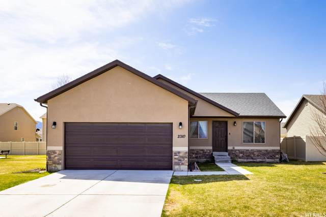 2310 E Ox Yoke Dr N, Eagle Mountain, UT 84005 (#1737188) :: Red Sign Team