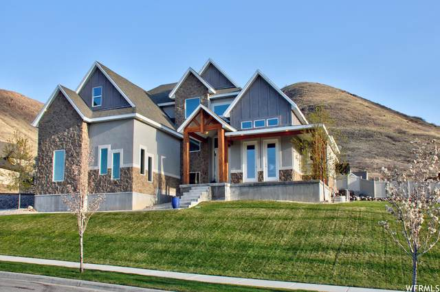 6621 W Wide Hollow Dr, Herriman, UT 84096 (#1737323) :: Black Diamond Realty