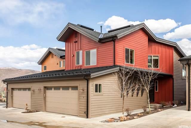 8077 Courtyard Loop #3, Park City, UT 84098 (MLS #1738231) :: High Country Properties