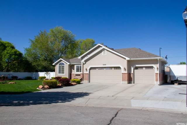 3409 W Newellwood Cir, West Jordan, UT 84088 (#1740110) :: Big Key Real Estate