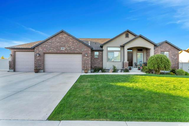 1392 W Marwood Park Ln, South Jordan, UT 84095 (#1740331) :: goBE Realty