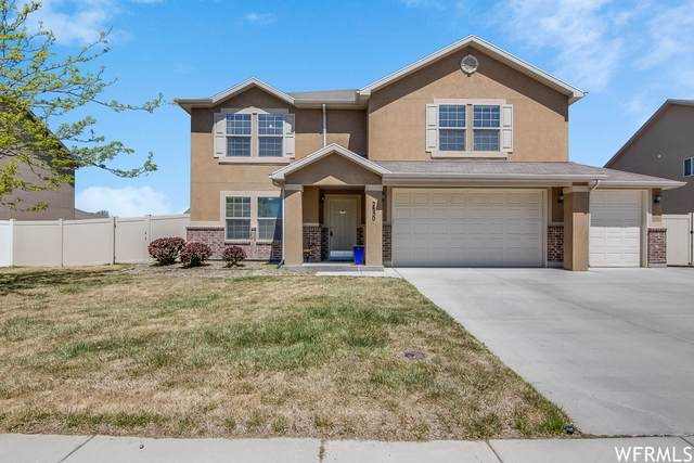 2850 W Willow Sprout Rd, Lehi, UT 84043 (#1740516) :: Black Diamond Realty