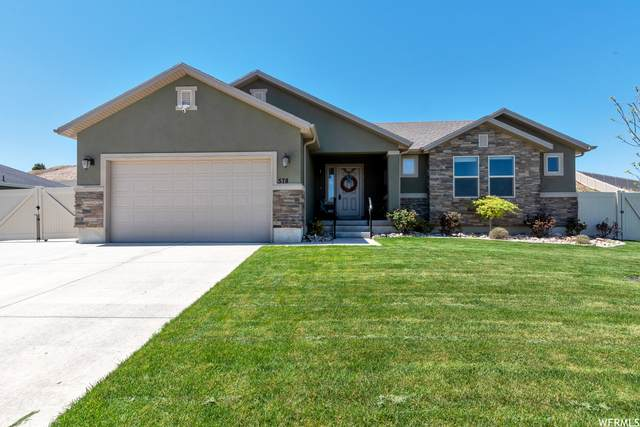 578 S Summit Trl W, Santaquin, UT 84655 (#1740674) :: Black Diamond Realty