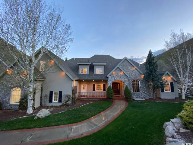 1154 N Hobble Creek Canyon Rd E, Springville, UT 84663 (#1740706) :: Black Diamond Realty
