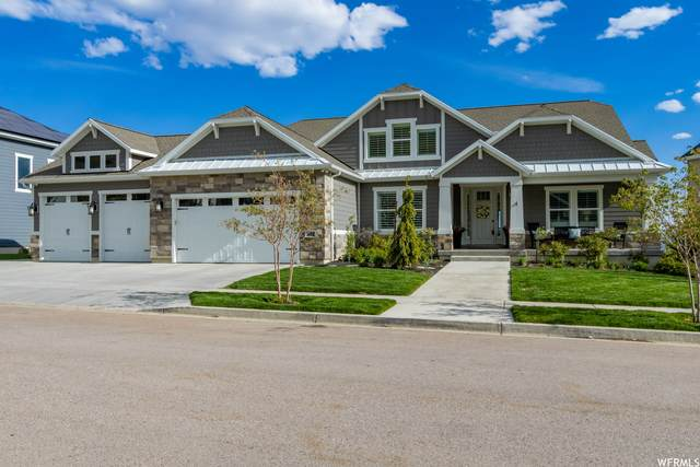 871 W Autumn Hills Blvd, Lehi, UT 84043 (#1740753) :: Black Diamond Realty