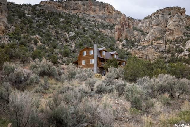 4525 N Dry Fork Canyon Rd, Vernal, UT 84078 (#1741147) :: Black Diamond Realty