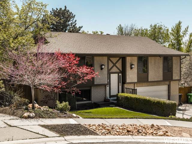 2506 E Newport Cir, Cottonwood Heights, UT 84121 (#1741174) :: Black Diamond Realty