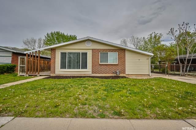 1080 N Taffeta Dr W, Salt Lake City, UT 84116 (#1741196) :: Utah Real Estate