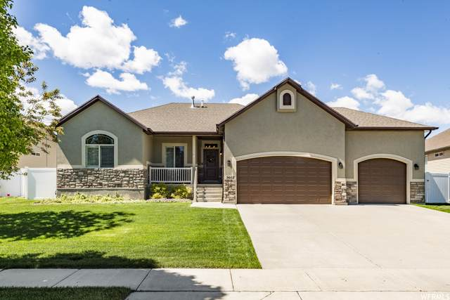 3602 S Blazing Oak Dr, Magna, UT 84044 (#1741358) :: Black Diamond Realty