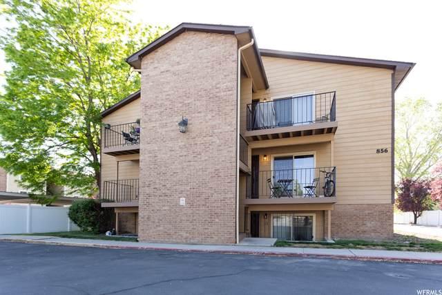 856 E Cedar Pine Ct #10, Salt Lake City, UT 84106 (#1741693) :: McKay Realty