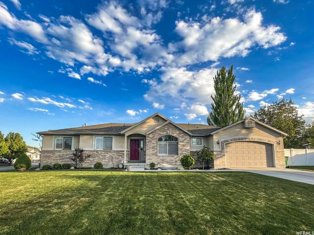 3713 W Madera Cir, Riverton, UT 84065 (#1741871) :: Black Diamond Realty
