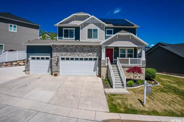 882 W Spring Dew Ln N, Lehi, UT 84043 (#1741976) :: Black Diamond Realty
