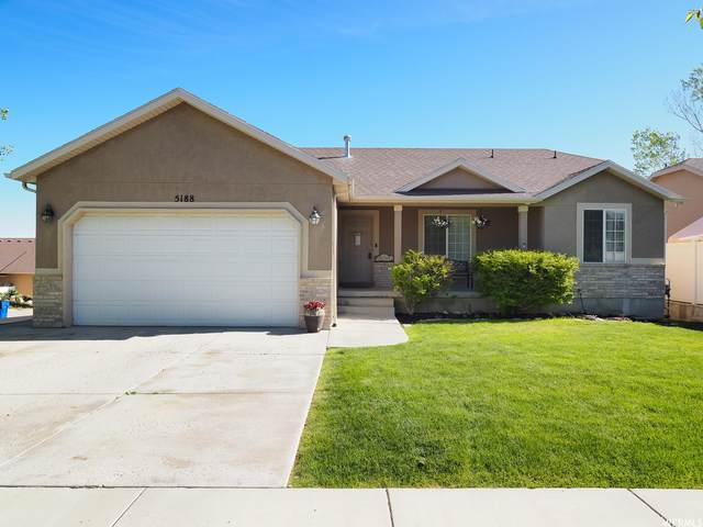 5188 W Alpen Glow Ct, Herriman, UT 84096 (#1742200) :: Black Diamond Realty
