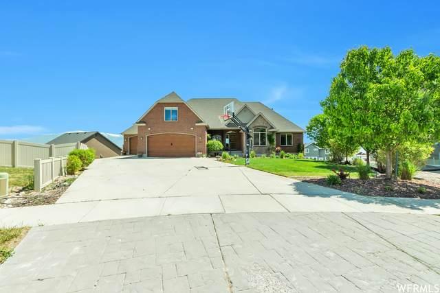 2816 S Kit Fox Dr W, Saratoga Springs, UT 84045 (#1743455) :: Utah Real Estate