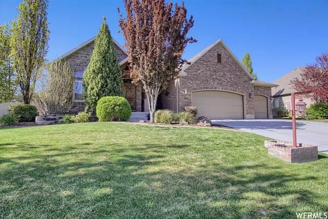 168 N Vista View Dr W, Kaysville, UT 84037 (#1743480) :: Bustos Real Estate | Keller Williams Utah Realtors