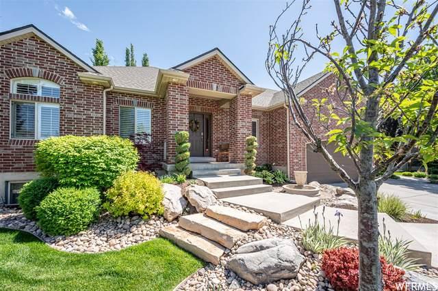 1527 W Misty Breeze Cir S, Kaysville, UT 84037 (#1743578) :: Utah Real Estate