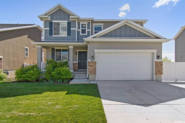 6517 N Star Discovery Way, Stansbury Park, UT 84074 (#1743690) :: UVO Group | Realty One Group Signature