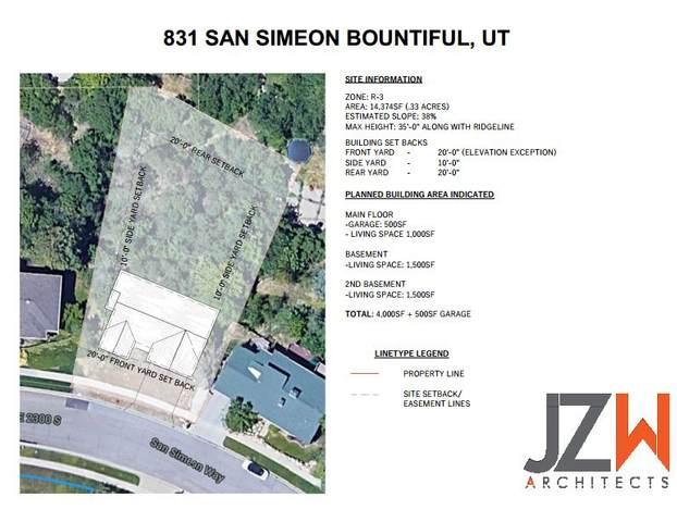831 E San Simeon Way S, Bountiful, UT 84010 (#1745440) :: Villamentor