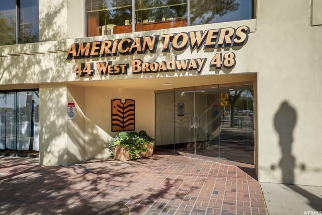 44 W Broadway S 1807S, Salt Lake City, UT 84101 (#1746551) :: Colemere Realty Associates