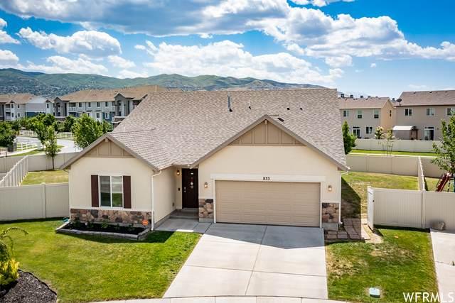 833 W Hexham Dr N, North Salt Lake, UT 84054 (#1747697) :: goBE Realty