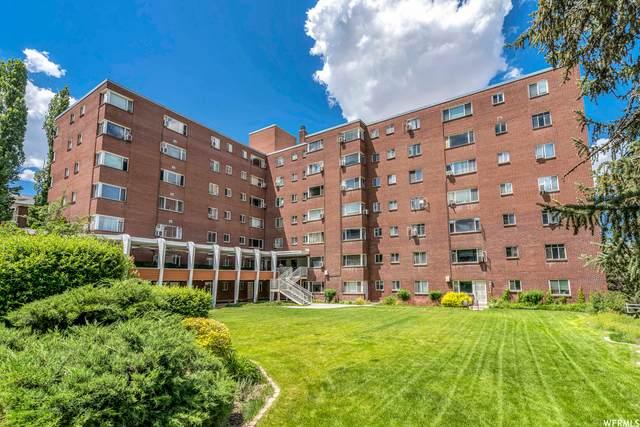 130 S 1300 E #404, Salt Lake City, UT 84102 (#1747709) :: Bustos Real Estate | Keller Williams Utah Realtors