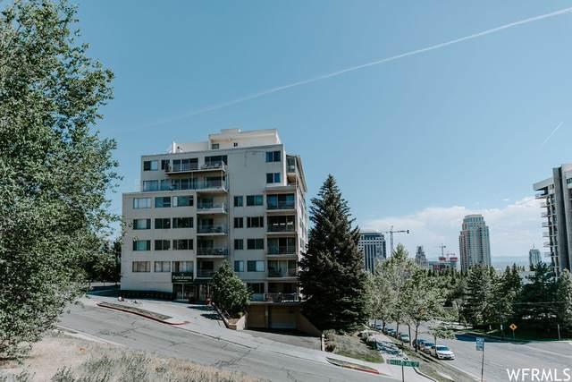8 E Hillside Ave N #206, Salt Lake City, UT 84103 (#1747988) :: UVO Group | Realty One Group Signature