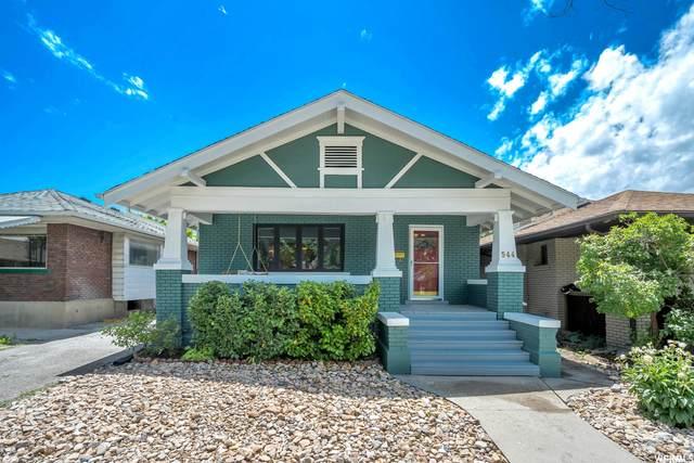 544 E Hollywood Ave, Salt Lake City, UT 84105 (#1748377) :: Utah Real Estate