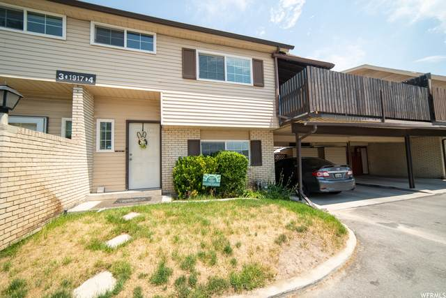 1917 W Homestead Farms Ln #4, West Valley City, UT 84119 (#1749144) :: Powder Mountain Realty