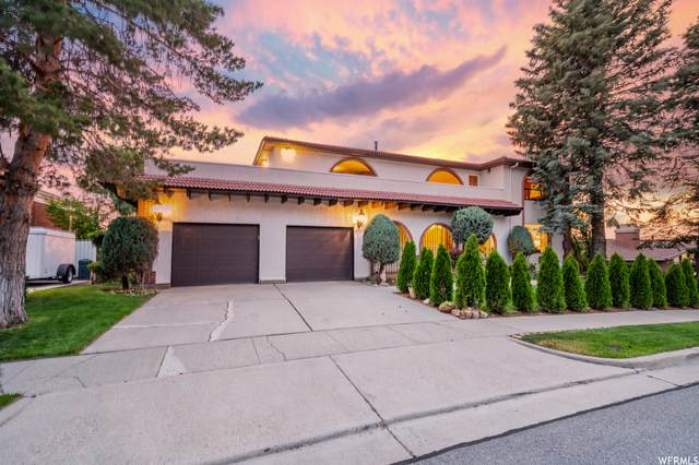 8688 S Russell Park Rd, Cottonwood Heights, UT 84121 (#1749401) :: Colemere Realty Associates