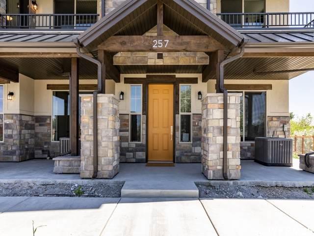 10356 S Sage Canal Way #123, Sandy, UT 84070 (#1749624) :: Berkshire Hathaway HomeServices Elite Real Estate