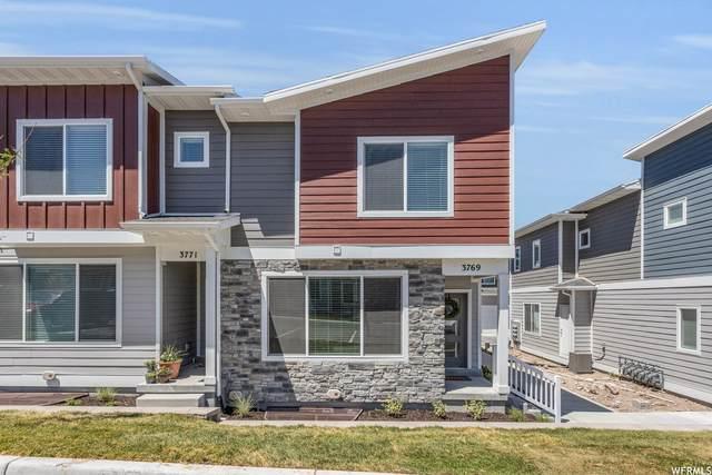 3769 W Pure Nirvana Ln, Herriman, UT 84065 (#1749627) :: Berkshire Hathaway HomeServices Elite Real Estate
