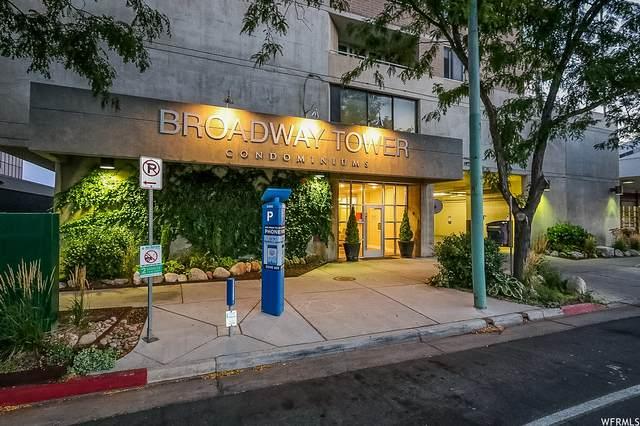 230 E Broadway #706, Salt Lake City, UT 84111 (MLS #1749971) :: Summit Sotheby's International Realty