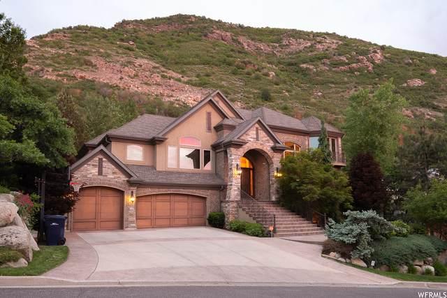 11887 S Hidden Canyon Ln, Sandy, UT 84092 (#1750984) :: Powder Mountain Realty