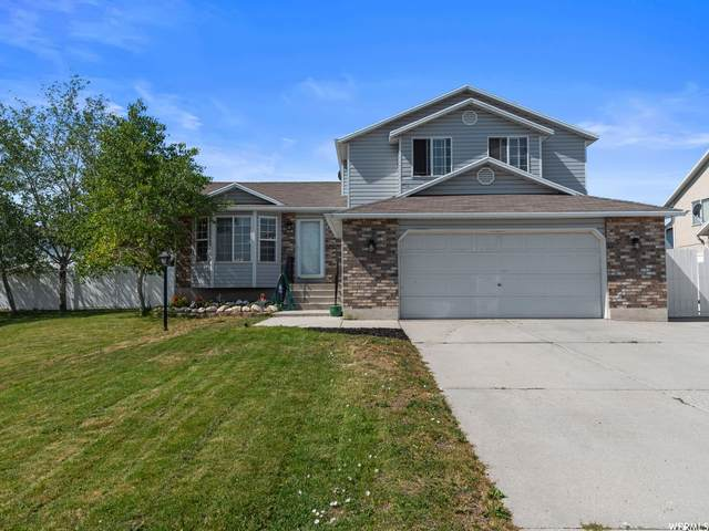 5641 W Hunter Hollow Dr, West Valley City, UT 84128 (#1751010) :: Powder Mountain Realty