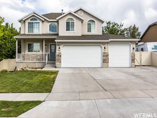 287 W Hillside Dr, Saratoga Springs, UT 84045 (#1751156) :: Villamentor