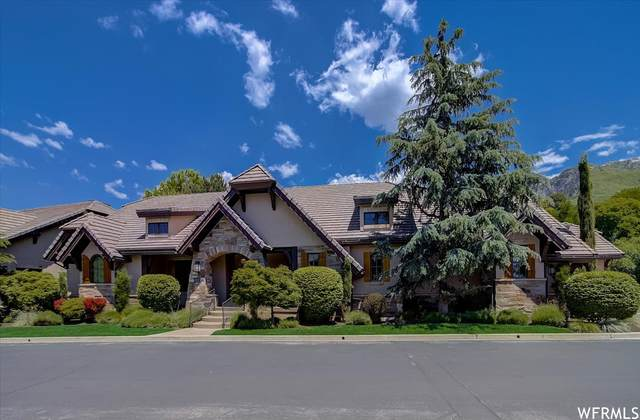 8781 S Falcon Heights Ln, Cottonwood Heights, UT 84093 (#1752209) :: Powder Mountain Realty