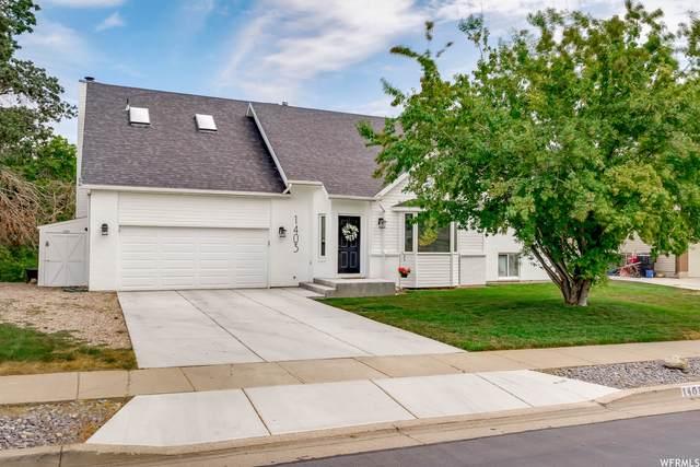 1403 S Haight Creek Dr. E, Kaysville, UT 84037 (#1756586) :: Berkshire Hathaway HomeServices Elite Real Estate
