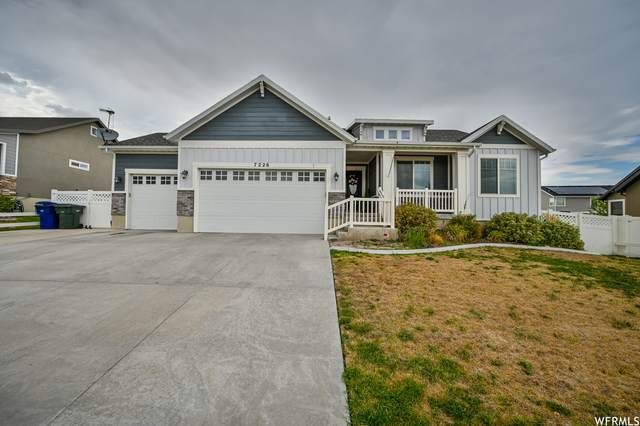 7226 W Silhouette Ln S, West Valley City, UT 84081 (#1757227) :: Exit Realty Success