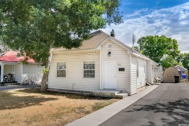 143 S Tremont St, Tremonton, UT 84337 (#1757365) :: Powder Mountain Realty