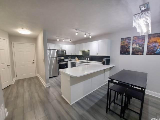 1245 E Privet Dr #108, Cottonwood Heights, UT 84121 (#1759176) :: Pearson & Associates Real Estate