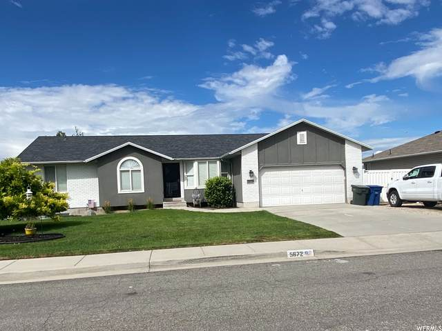 5672 W Hunter Hollow Dr Dr S, West Valley City, UT 84128 (#1759475) :: Powder Mountain Realty
