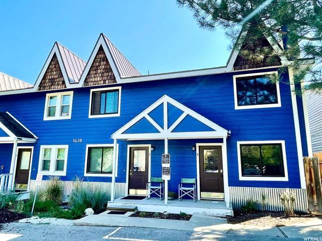 1438 Park Ave Ave #7, Park City, UT 84060 (MLS #1759846) :: Summit Sotheby's International Realty